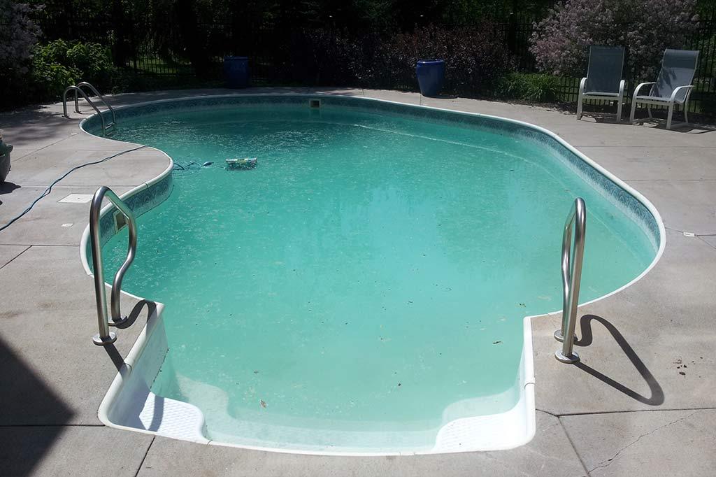 Treat Green Algae In A Swimming Pool Platinum Pool Service